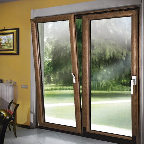 Finestre in alluminio legno taurus infissi e serramenti - Finestre legno e alluminio ...
